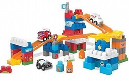 Mega Bloks First Builders Deluxe RESCUE TEAM Building Set - 120 Pieces -... - $37.94