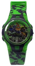 Teenage Mutant Ninja Turtles Flashing Lights Kid's LCD Watch - KOWABUNGA Gift! - $19.94