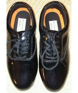 Showstopper Black Shiny Marching Band Oxford/Lace Up Shoes Mens 8 Womens... - $17.77