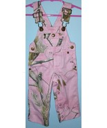 Cabela's RealTree baby girl pink camo overalls tree print camouflage 3Mo... - $14.82