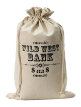 Money Bag Canvas  Costume Accessories - $15.08
