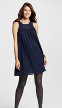 NWT Medium Liz Lange Maternity Navy Blue Dress - $9.74