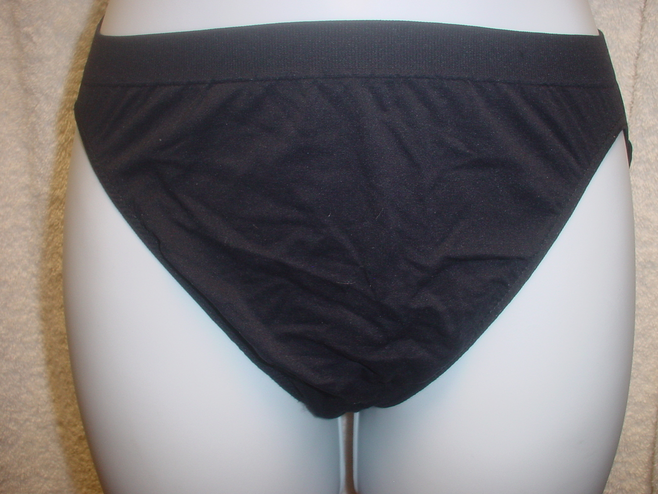 Jockey Seamfree Panty 5/Small Black SP-Slightly Imperfect Lot of 2 NWOT