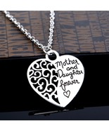 Ltfei Women's Fashion Necklace Mother and Daughter Forever Love Pendant ... - $6.92