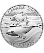 $100 Fine Silver Coin - Orca (2016) - $135.00