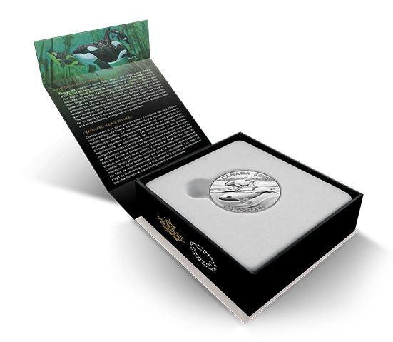$100 Fine Silver Coin - Orca (2016)