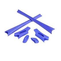 New Seek Optics Rubber Kit Earsocks Nose Pads For Oakley Flak Jacket Xlj - Blue - $10.88