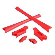 New Seek Optics Rubber Kit Earsocks Nose Pads For Oakley Flak Jacket Xlj - Red - $10.88