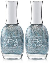 Sally Hansen Gem Crush Nail Color #01 SHOWGIRL CHIC (Pack of 2) Plus a Free N... - $14.99