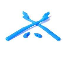 New Seek Optics Rubber Kit Earsocks Nose Pads For Oakley Half Jacket 2.0 - Blue - $10.88