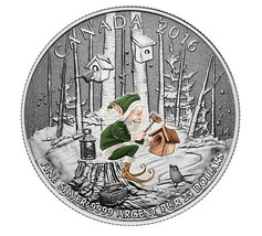 $25 Fine Silver Coin - Woodland Elf (2016) - $33.00