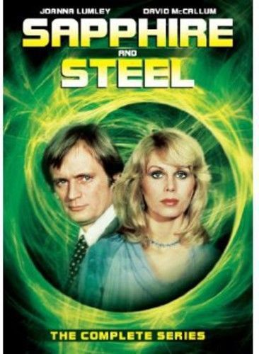 Sapphire and Steel - The Complete Series (DVD 5-Disc Set) NEW Classic TV Series