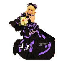Chobits Chii Gothic Lolita Luxury Ver cosplay costume - $189.45 CAD