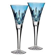 Waterford Lismore Jewels Champagne Crystal Aqua... - $198.92