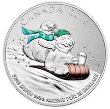 $25 Fine Silver Coin - Winter Fun (2016) - $33.00