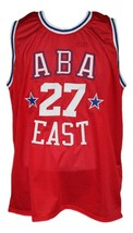 Caldwell Jones #27 Aba East Basketball Jersey Sewn Red Any Size image 4