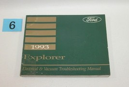 1993 Ford Explorer Electrical and Vacuum Trouble Shooting Service Manual USED 6 - $22.72