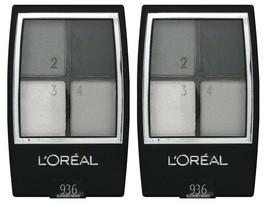(2) L'oreal Studio Secrets Color Smokes Quad Eyeshadows 936 Blackened Smokes .16 - $13.85