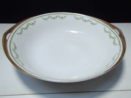 "Rosenthal Selb Bavaria 9"" Open Vegi Bowl~~green garland decoration - $9.95"