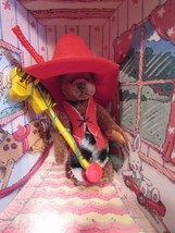 """GUND """"The Littlest Bears"""" 1994 COWBOY #7006  in box 3"""" fully jointed - $6.44"""