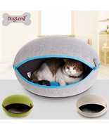 Foldable Egg Shape Dog Puppy Bed House Cute Cat Cave Kennel Tent Beds  C... - $126.34 CAD