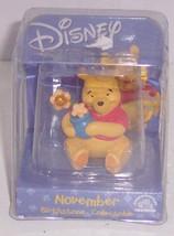 Disney Winnie Pooh Bear November Birthstone Figurine Birthday Gift Birthday - $19.95