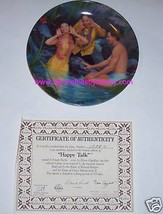 South Pacific Collector Plate Happy Talk Movie Bradford Exchange Vintage  - $19.97