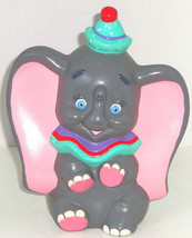 Walt Disney Productions Dumbo Elephant Figurine Hand Painted Vintage Re... - $24.97