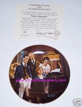 Norman Rockwell Collector Plate Close Harmony Bradford Exchange Vintage ... - $14.97
