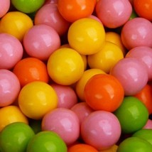 Gumballs Bubble Bright 25mm Or 1 Inch (57 Count), 1LB - $9.89