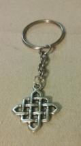 Handmade Silver Celtic Weave Key Chain Fashion ... - $6.99