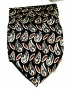 Christian Dior Monsier Paisley Men's 100% Silk Necktie  - $18.64