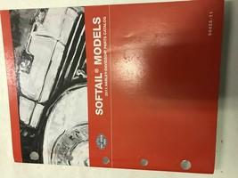 2011 Harley Davidson Softail Models Parts Catalog Manual Book 2011 Oem - $39.55