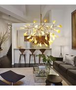 Modern Heracleum LED Chandelier Plant Ceiling Lamp Home Lighting Fixture... - $335.00
