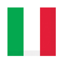 Red White Green Luncheon Napk  Party Supply - £17.71 GBP