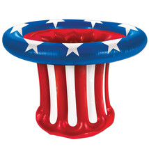 Inflatable Patriotic Hat Coole  Party Supply - £20.14 GBP