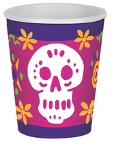 Day Of The Dead Beverage Cups  Party Supply - £17.71 GBP