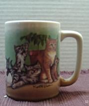 Vintage Stanley Papel Design OTAGIRI JAPAN Kurt R. Kress Cats Design Cof... - $8.00