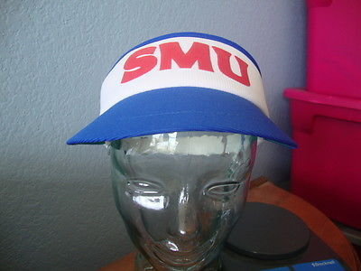 huge selection of 983fd dd45a NEW Vintage NCAA SMU Mustangs Tennis Visor and 50 similar items