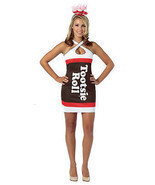 Tootsie Roll Teardrop Dress  Costume - £21.81 GBP