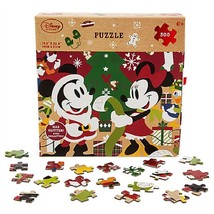 Disney Store Minnie and Mickey Mouse Christmas Puzzle 500 Piece 2016 - $49.95