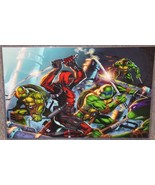 TMNT vs Deadpool Glossy Art Print 11 x 17 In Hard Plastic Sleeve - $24.99