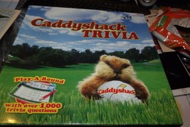 Caddyshack Trivia Play A Round With Over 1000 Questions New In Shrink Wrap - $14.00