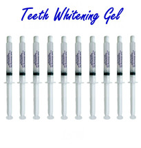 10 Professional 35% Teeth Whitening Gel Syringe Whitener At Home System - USA !  - $13.45
