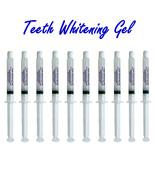 10 Professional 35% Teeth Whitening Gel Syringe Whitener At Home System ... - $13.10