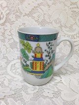 Vintage, Sigma Japan, Crown Staffordshire Style,Variant Gaudy Willow Mug... - $18.95
