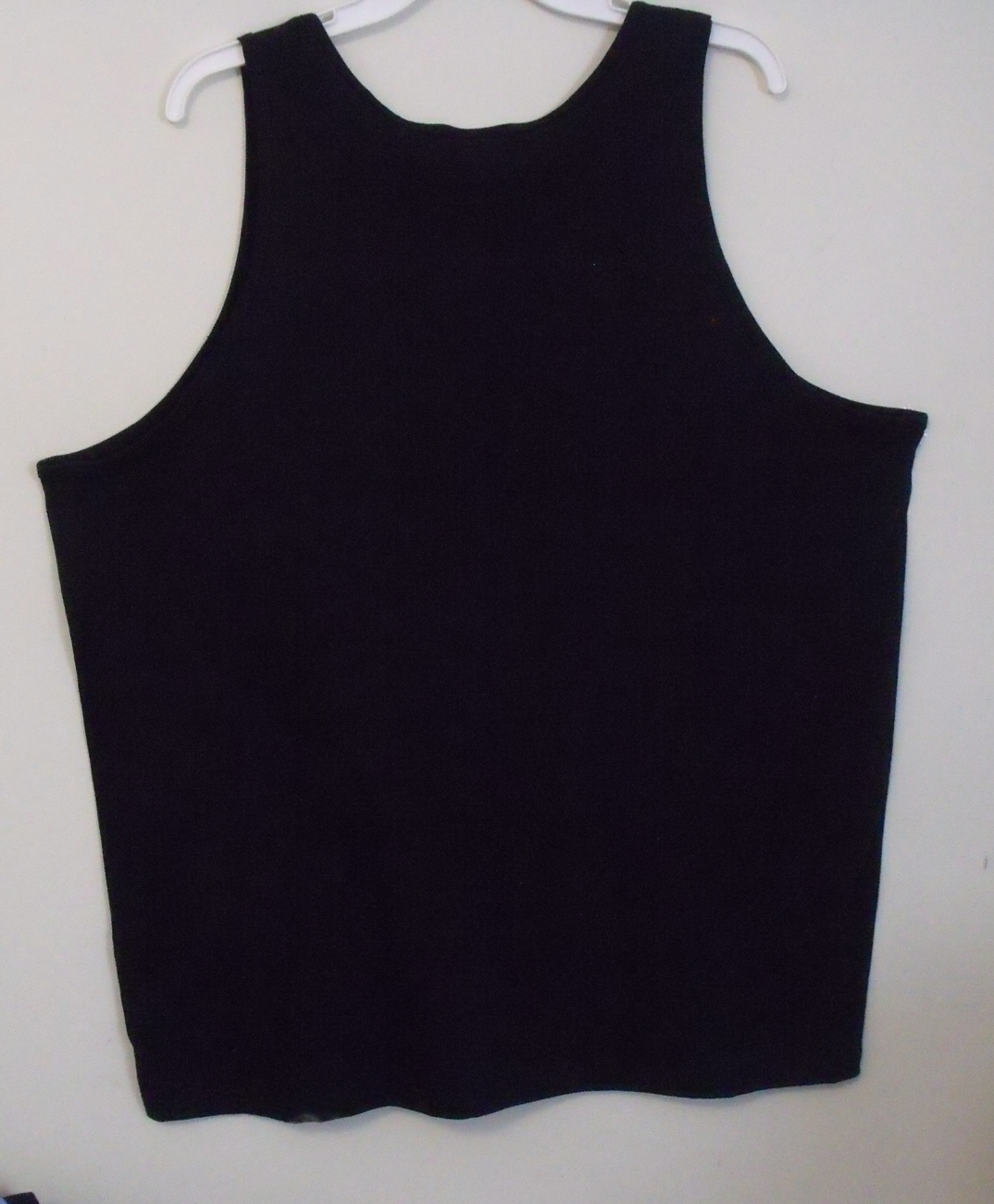 Mens Gildan Black NWOT Sleeveless Tank Top Size 2XL