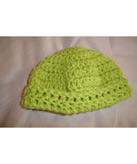 Hand crocheted beanie/cap/hat for baby/toddler - $6.00