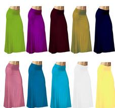 DBG Women's Women's Maxi High Waist Rayon Skirts - $25.99+