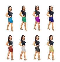 DBG Women's Mermaid Fish Scale Shorts - $34.95+
